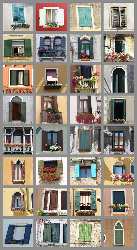 Windows of Italy and Croatia