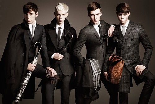 burberry mens aw 2011