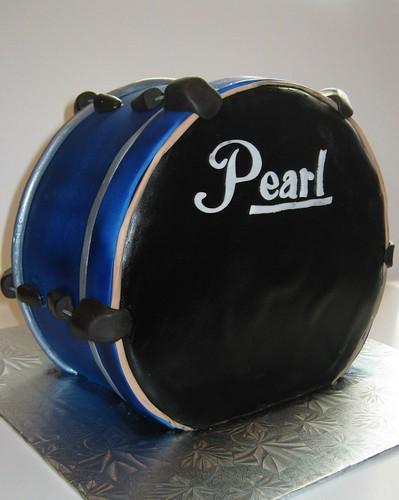 Drum Cake by Cake Maniac