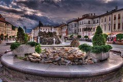 Banska Bystrica (socrates197577) Tags: nikon nuvole niceshot hdr città nuvoloso photomatix ringexcellence musictomyeyeslevel1