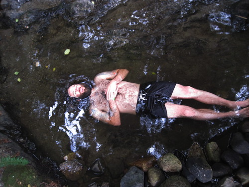 Baptism in the creek, or a body?