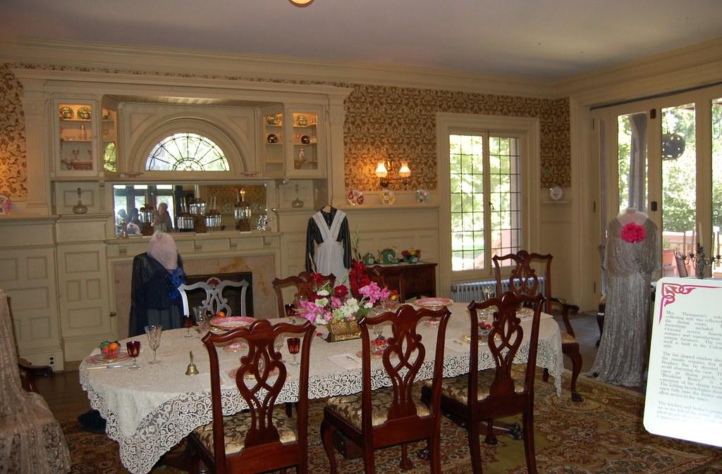 Back to Sonnenberg - Dining Room - Breakfast Bower