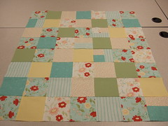 Left over quilt top