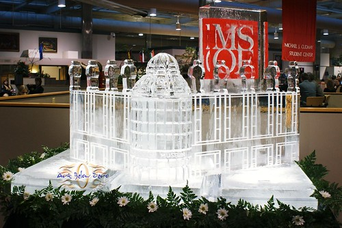 Grohmann Museum at MSOE ice sculpture