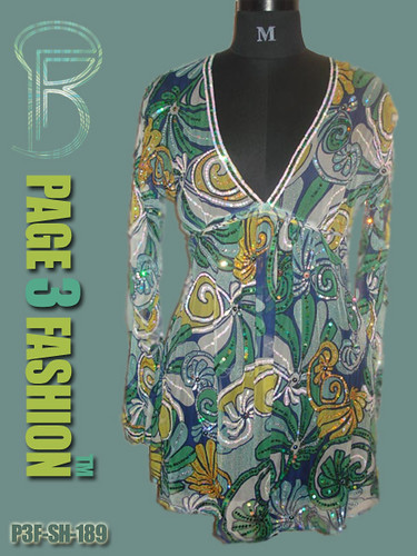 The Eagles / Embellished beachwear tunics / comfortable chiffon beach tunic