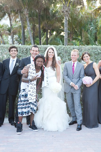 Lil Wayne crashes Liquid DJs wedding