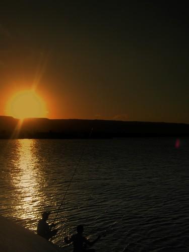 Mancing sunset