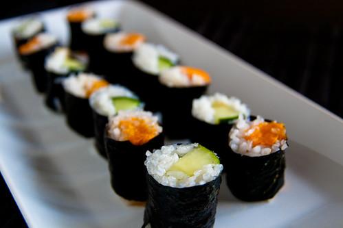 Vegetarian Hosomaki