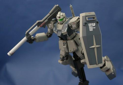 Gundam 0083- HGUC 1/144 - RGM-79C GM Type C - Completed - 2
