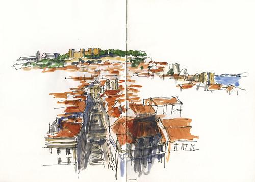 12_Mon25 08 Final Lisbon Sketch - The CLASSIC view