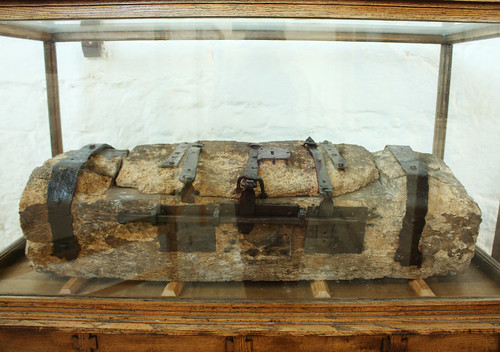 Medieval alms chest, St Beuno's