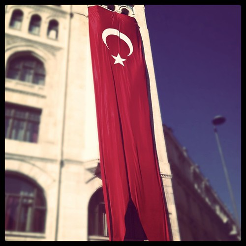 Giant Turkish flag #istanbul #flag #flags