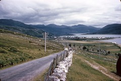 Ullapool. the Road North (1959) (bellrockman2011) Tags: ullapool rockpath westerross benmorecoigach rossshire lochbroom ardmairbay singletrackroads