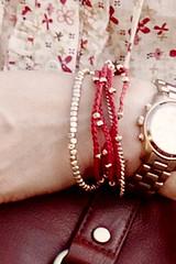 Charlotte Russe beaded bracelet