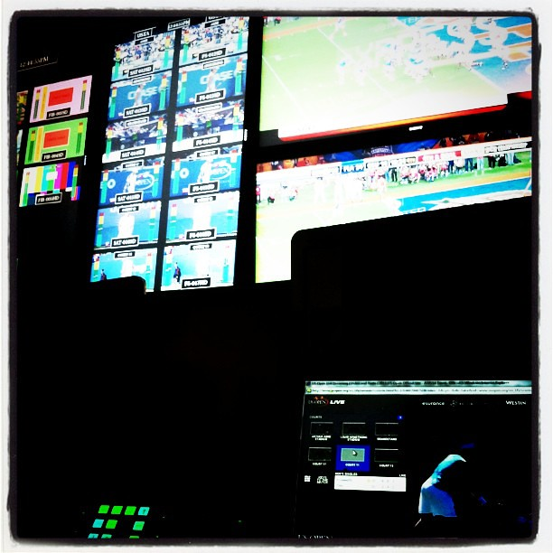 Back in the control room...