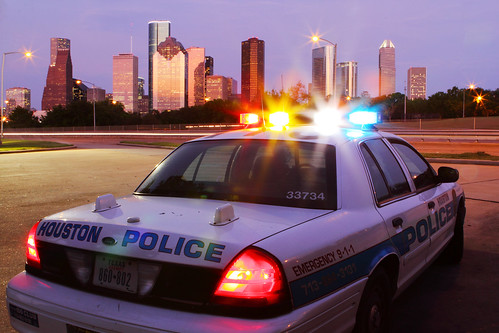 Houston Police Skyline