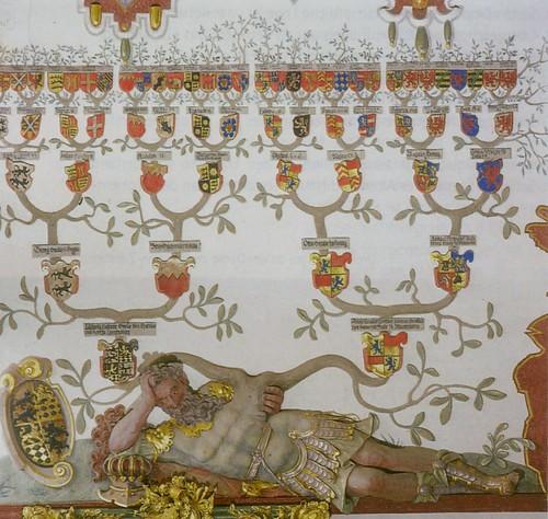 Schloss Weikersheim, Rittersaal, Stammbaum (Kinght's Hall, genealogy) by HEN-Magonza
