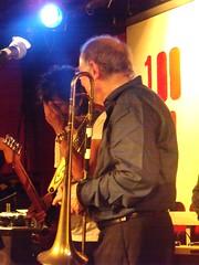 Chris Barber (gudrunfromberlin) Tags: london guitars jazz oxfordstreet 100club prettythings ronniewood micktaylor chrisbarber dicktaylor markstjohn stephendalepetit