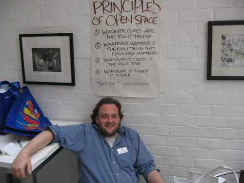 Andy Luke and the Principles of Open Space