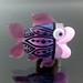 Single Bead : Amethyst Fish