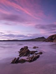 Porthselau sunset (Jon Sketchley) Tags: sunset wales whitesands pembrokeshire porthselau porthmawr treleddyn carndllidi