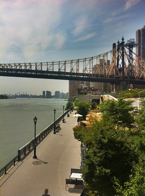 View of East River Park