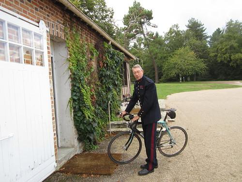 Papa et son vélo