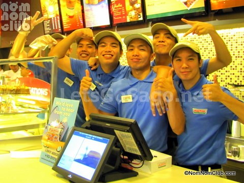 Krispy Kreme Alabang Staff