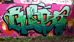 Nijmegen 2011 (~GUEST~) Tags: holland green wall ink nijmegen graffiti bucket weed paint letters nederland bubbles fresh crack 09 spliff font druid guest graff hulk hash 031 2011 972 guestonine
