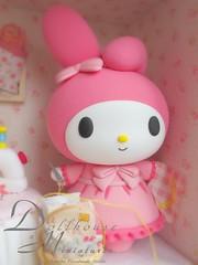 My Melody (charles fukuyama) Tags: mymelody claydoll cute decoration handmade dollhouse miniature custom sculpted rabbit bunny lovely