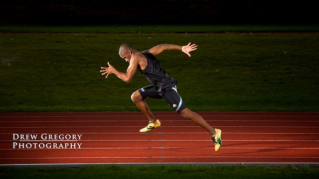 Track and Field Athlete | Corey ~ Sprinter