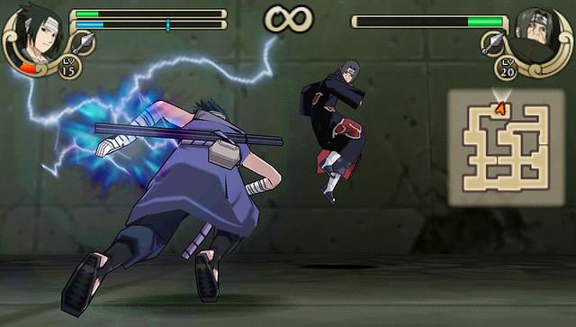 Naruto Shippuden: Ultimate Ninja Impact - Sasuke vs Itachi