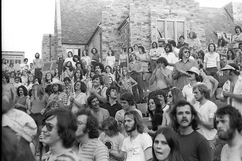 Pure Prairie League at Southwestern - April 1974 (20) by joespake