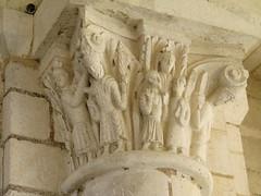 20110507 Valle de Loire - Saint Benot-sur-Loire Loiret - Basilique de l'abbaye-36 (anhndee) Tags: france river ride centre moto bmw fleuve motorrad byke randonne loiret valledelaloire saintbenoitsurloire