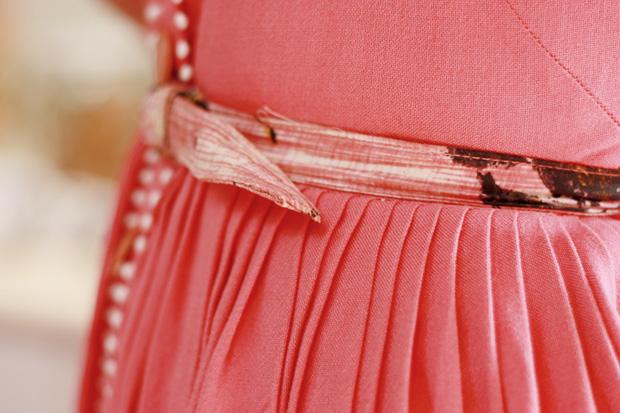 pink pom pom dress a