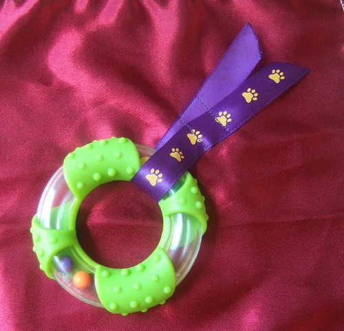 teething ring square