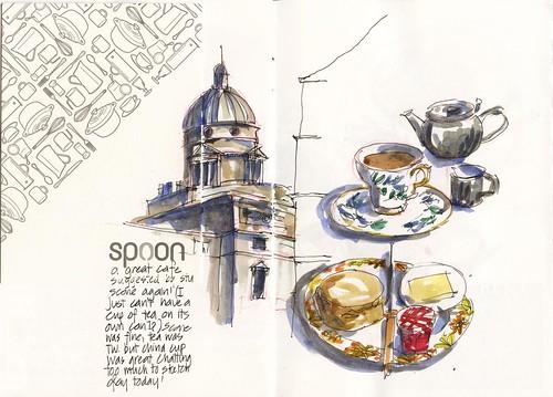 05_Mo18 06 Spoon arfternoon Tea with AM and Stu