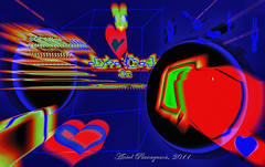 Heart and cat (Aniol I) Tags: light abstract licht ever luce setembre 2011 aniolplanagum
