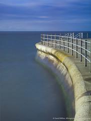 Sea wall long exposure, Birchington on sea (David Millier) Tags: longexposure bw nd400 neutraldensity birchingtononsea 10stop leefilter nd110 nd1000x bigstopper