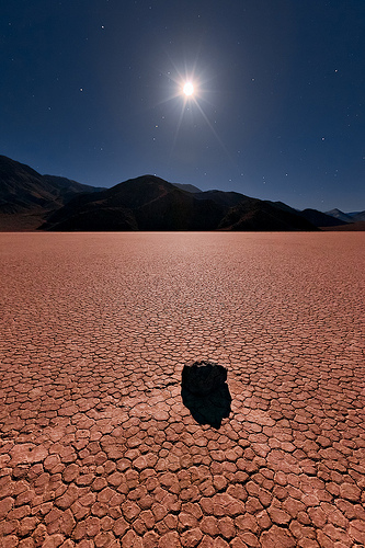 A Turning Point, The Race Track, Death Valley National Park