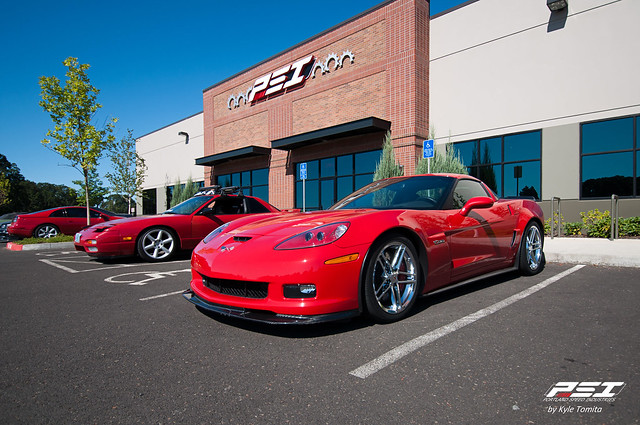 Chevrolet Corvette Z06 in front of PSI 002.jpg