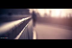 Bridge Bokeh (Jeff Krol) Tags: street bridge light sunset people sunlight haven canon fence walking eos harbor bokeh harbour walk special cinematic f28 harlingen 70200mm 70200l ef70200mmf28lusm 60d jeffkrol