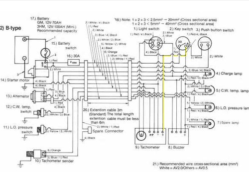 6128686960_b32ab45189 yanmar 2gm20f tachometer troubleshooting sailnet community Starter Solenoid Wiring Diagram at pacquiaovsvargaslive.co