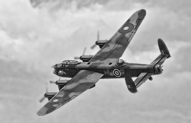 Lancaster Queens flight