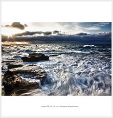 Let there be light (John JHL Photography) Tags: park light sea sky cloud seascape beach john power royal australia national impact nsw be there jhl let garie