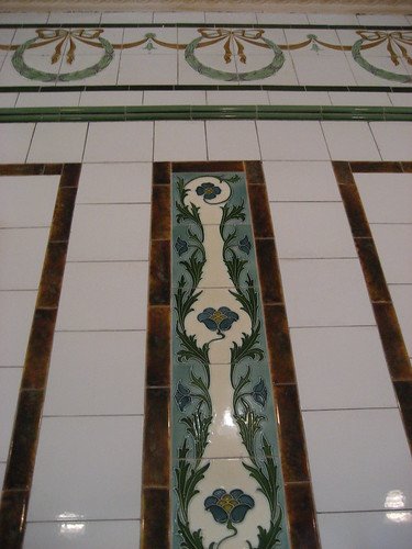 Beautiful tiles at L. Manze
