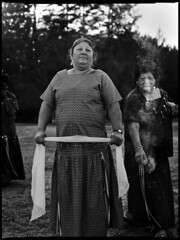 Women Smudging (Federated Indians of Graton Rancheria - Santa Rosa, CA)