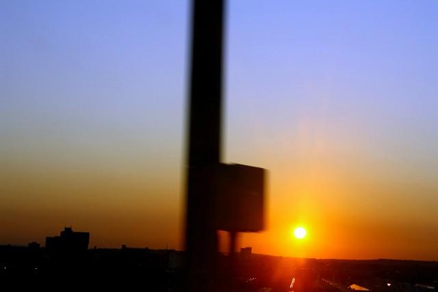 LD sunset
