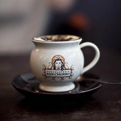 like this cup, and coffee (TimQ+) Tags: canon eos 50mm san mark f14 sydney australia ii 5d ef chatswood churro springfestvial