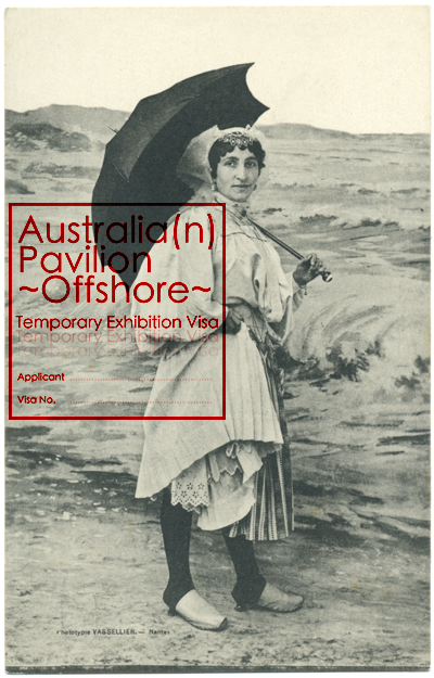 2011.09_Australia(n) Pavilion Venice Offshore_Visa Applicant with umbrella_&&<span class=